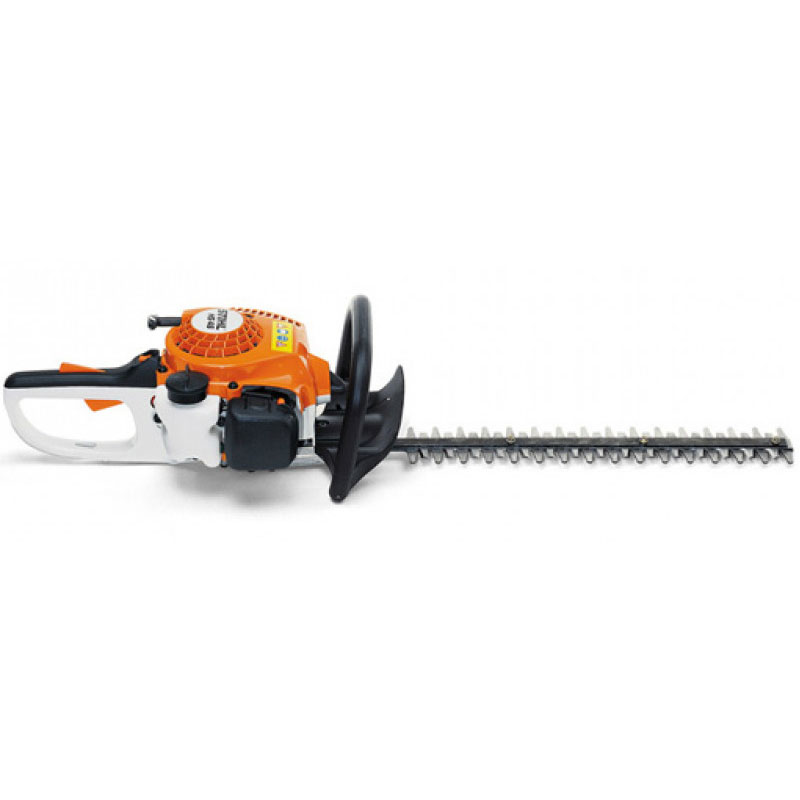 machine with flat long trimmer blade