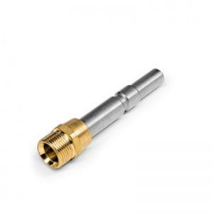 small silver adaptor screw
