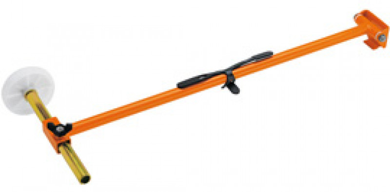 long orange cutting direction indicator