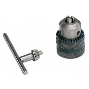 metal drill chuck and key