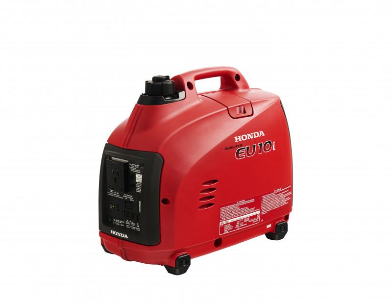 small red generator machine