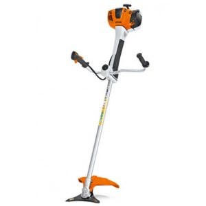 electric grass trimmer with bike handle