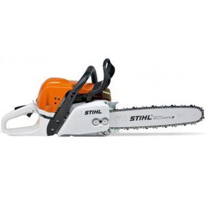electric chainsaw machine with handguard