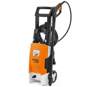 medium size machine cleaner with black handle and hose or cable holder