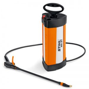 small machine with thin black water spryer hose