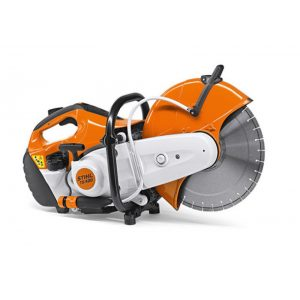machine with cutting wheel for concrete