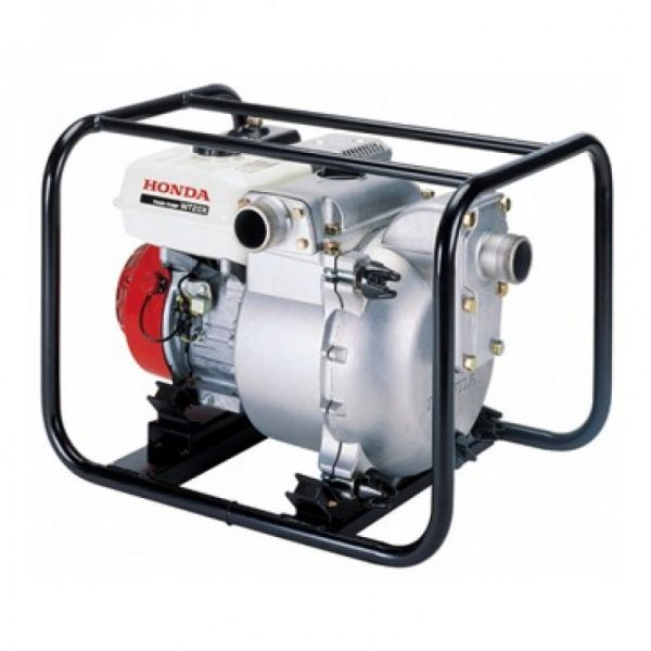 red and white water pumping machine