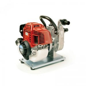 red machine for water pump