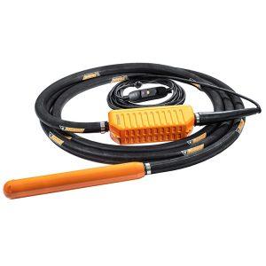 long black heavy duty hose