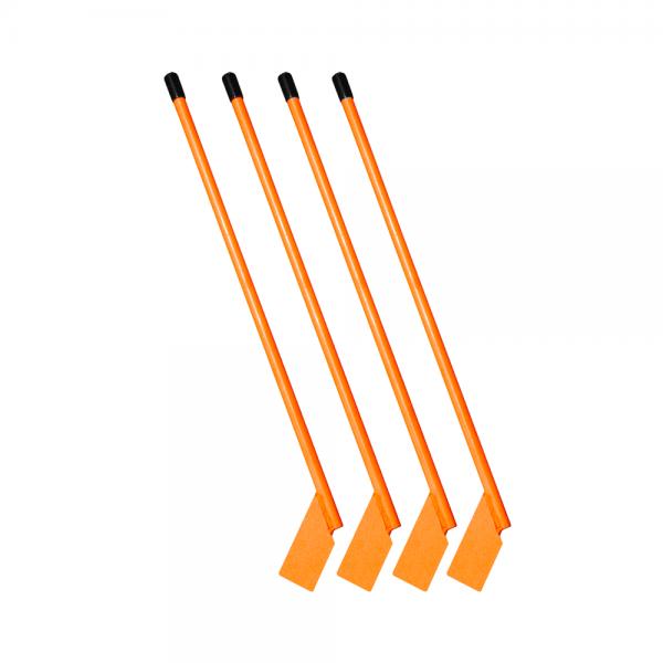 various orange handle