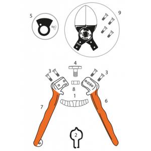 castellari double blade parts