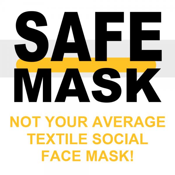 safe mask poster