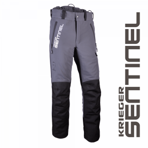 grey and black krieger pants with side pocket