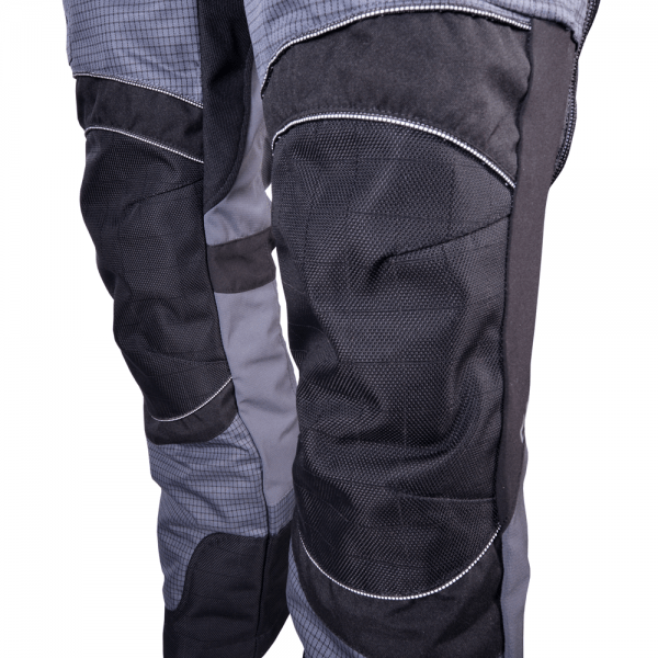 grey and black krieger pants