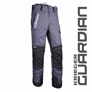 grey krieger and black pants with side pocket