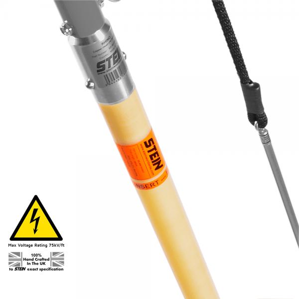 long base pole with rod