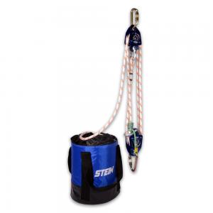 blue hauler kit with bag