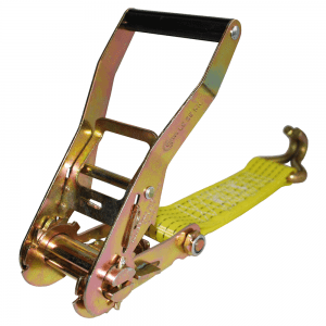 yellow nylon webbing with inverted hook with handle