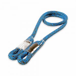 long blue rope