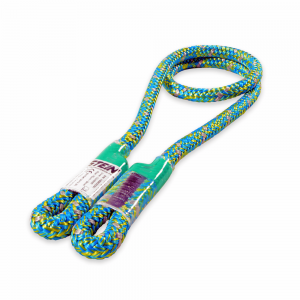 long blue and green ropes