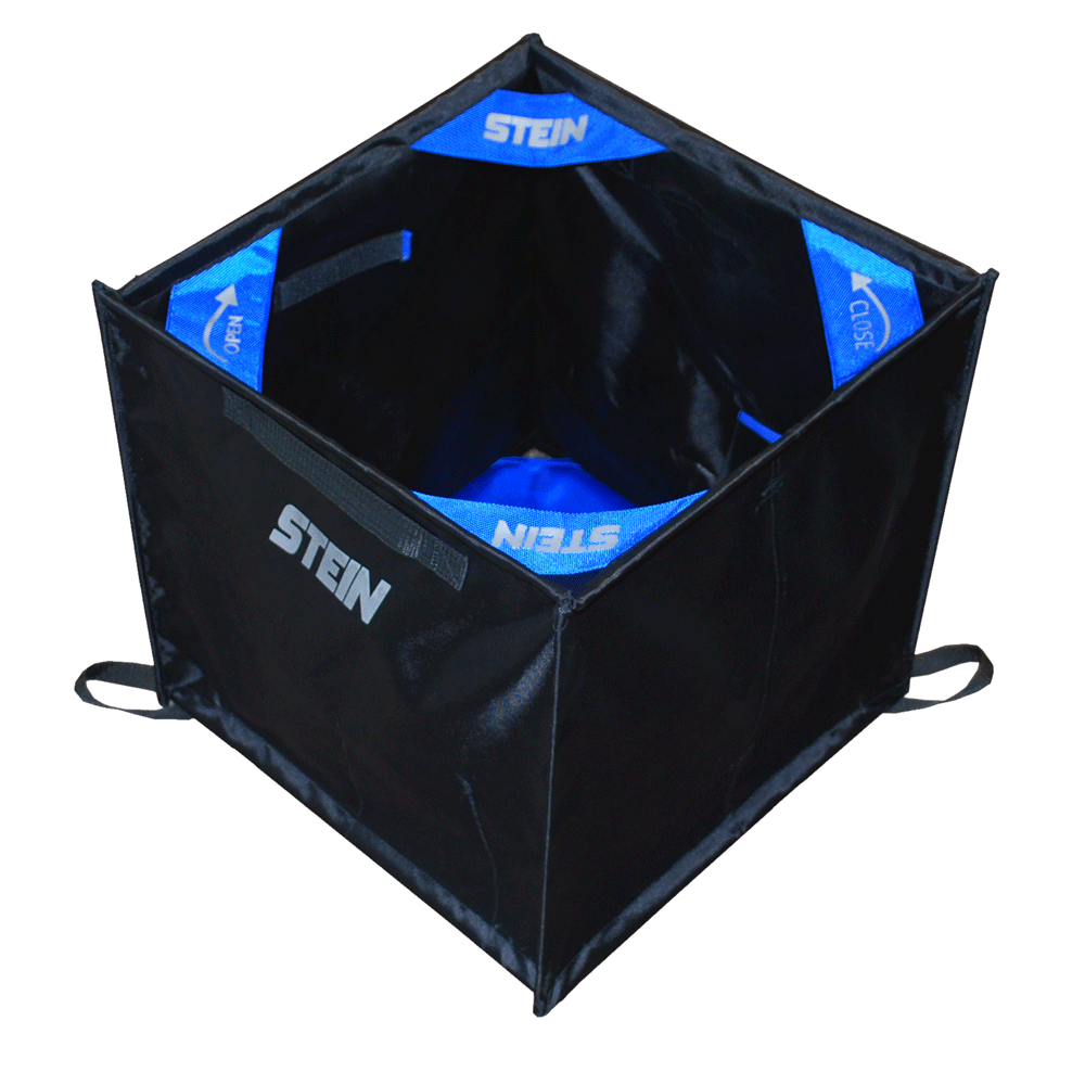 black folding cube
