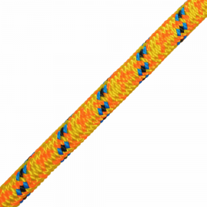 orange and blue rope