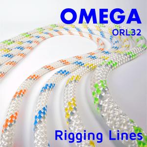 omega rigging lines poster