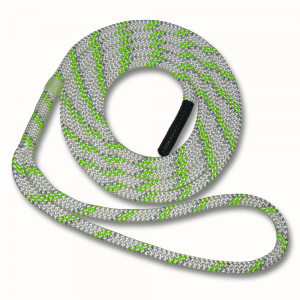 green and grey sling