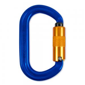 blue aluminum clip