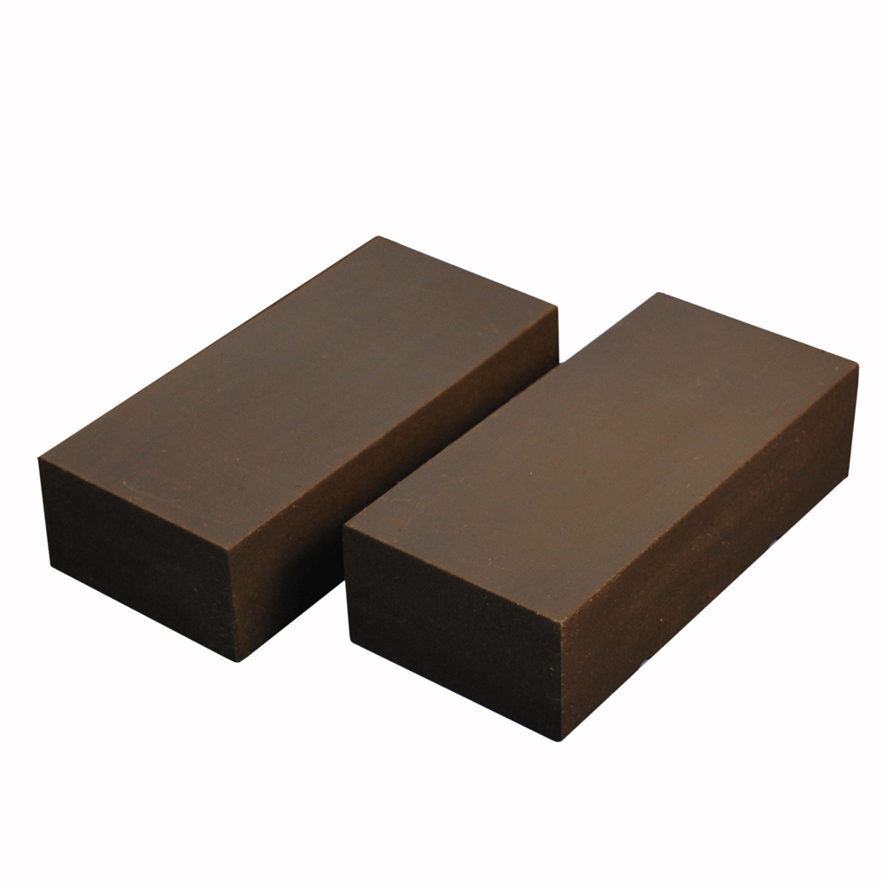 two brown rubbers