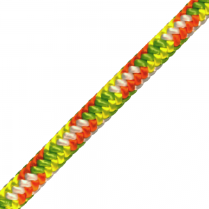 green and orange rope