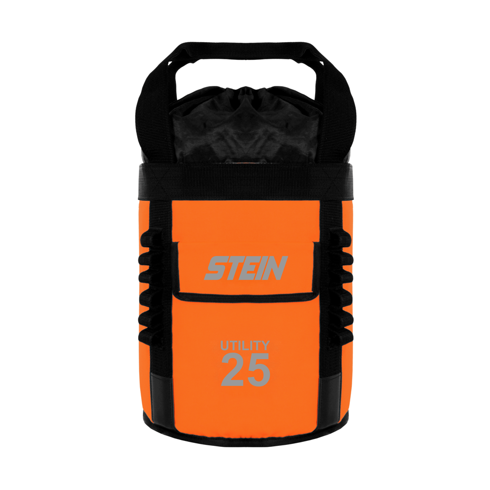 orange storage bag