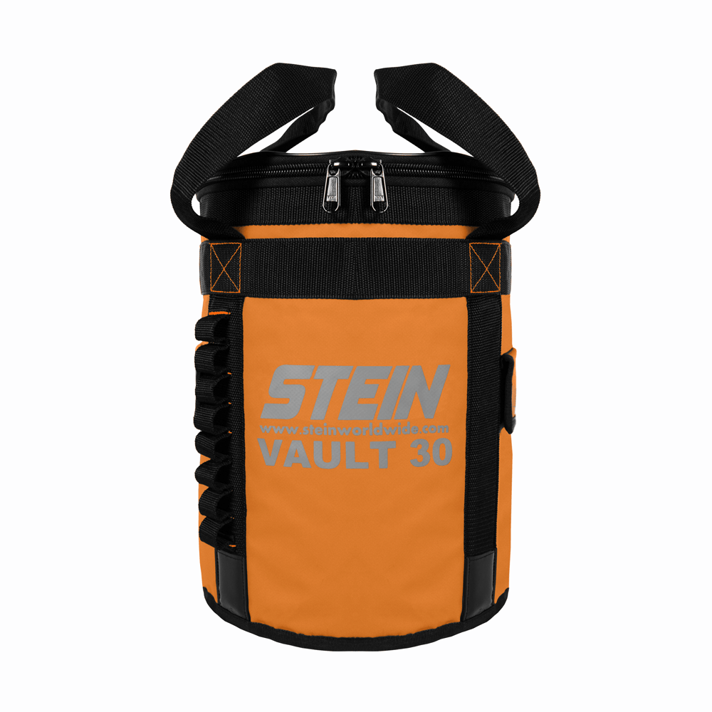 orange vault kit storage bag