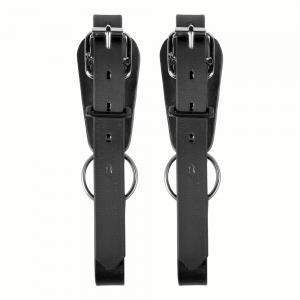 two black lower straps