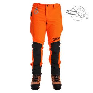 men's orange climbing pants