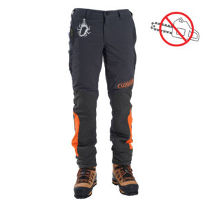 men's orange and grey climbing and work pants
