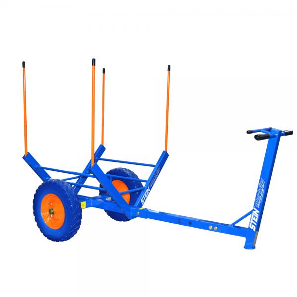 blue multi functional trolley