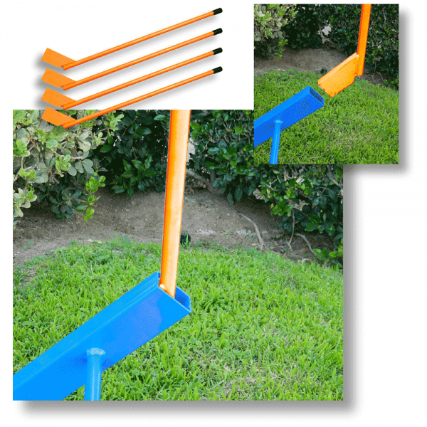 various orange replacement handles