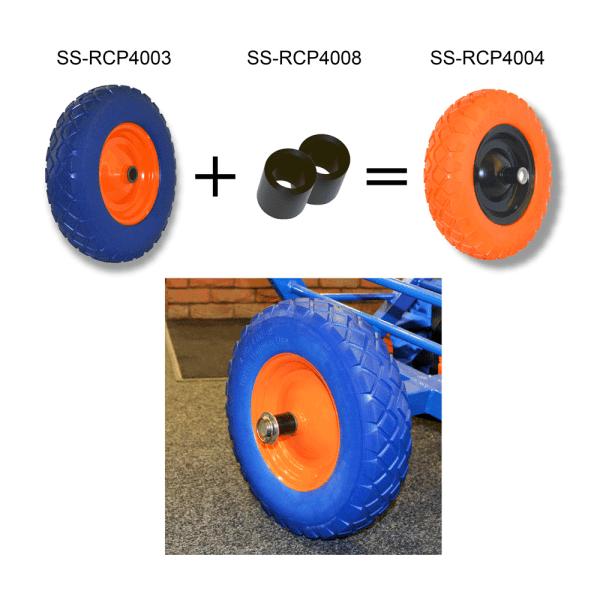 round wheel parts