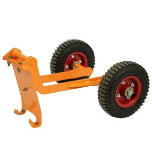 walk behind power trowel with two big wheels
