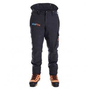 men's black fire resistant trousers