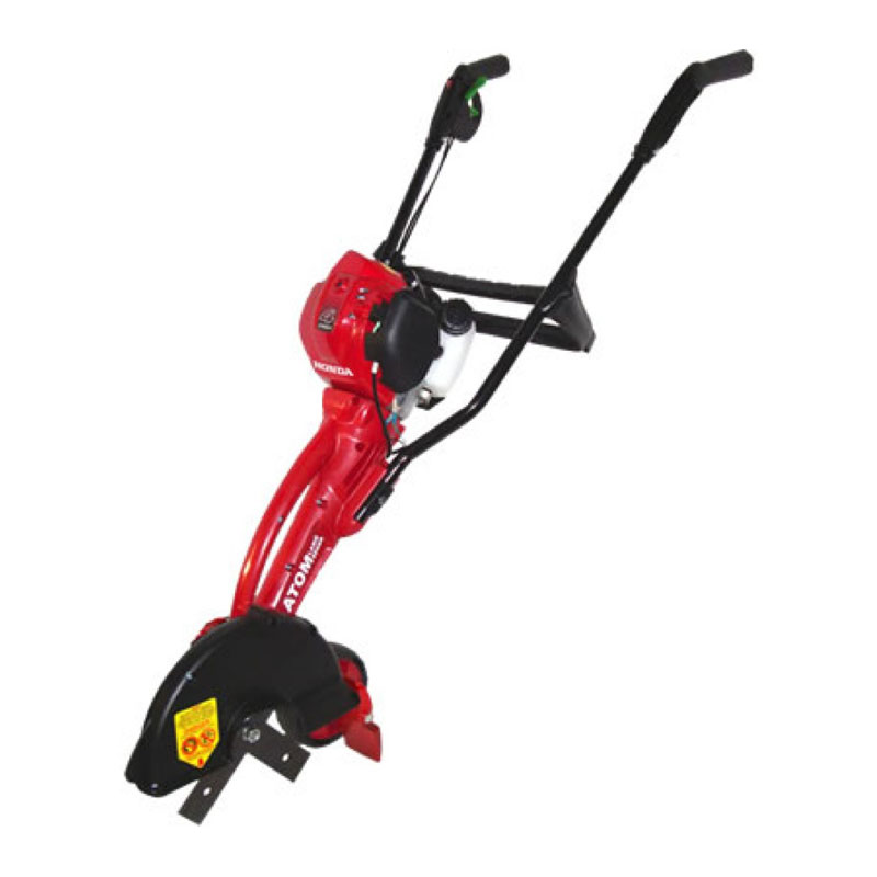 red grass cutter with handle