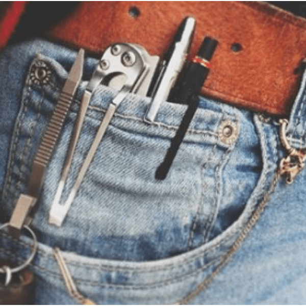 small knife in a pocket
