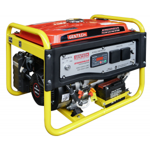 yellow and red avr generator