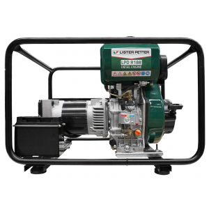 green diesel generator with recoil and & e-start