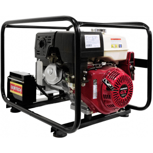red powered generator with e-start and avr