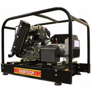 black diesel generator with recoil and e-start