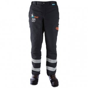 men's black and grey fire resistant trousers