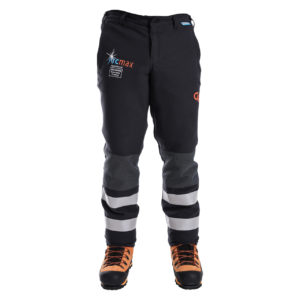 men's fire resistant chainsaw trousers
