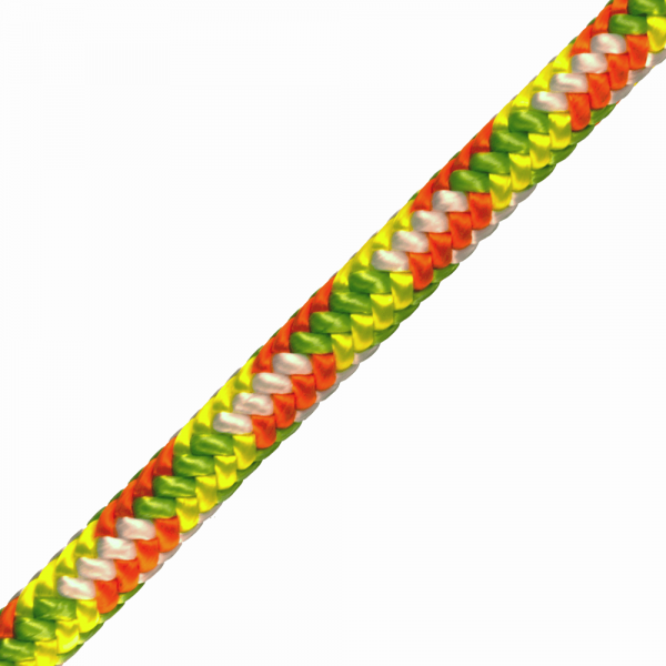 green and yellow rope